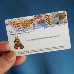 SpeelgoedbankPAS, Speelgoedbank Wageningen pas