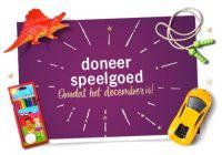 Speelgoed doneer actie Albert Heijn (AH)
